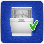 Easy Clean Dishwasher Safe