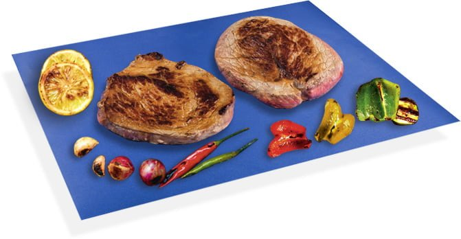 BBQ Mat with foods